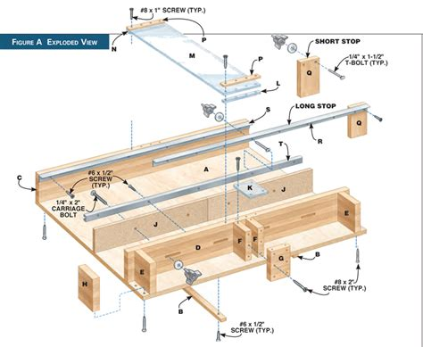 table saw crosscut sled plans this hack makes better diy crosscut sleds