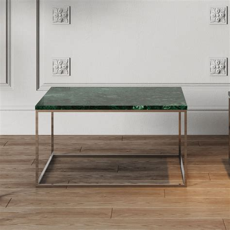green marble coffee table gleam green marble chrome modern coffee table eurway