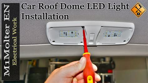 how to install led lights in car how to install led dome map lights in your car tell