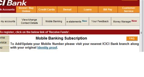 icici bank mobile number needlecraft icici bank updating your address and mobile