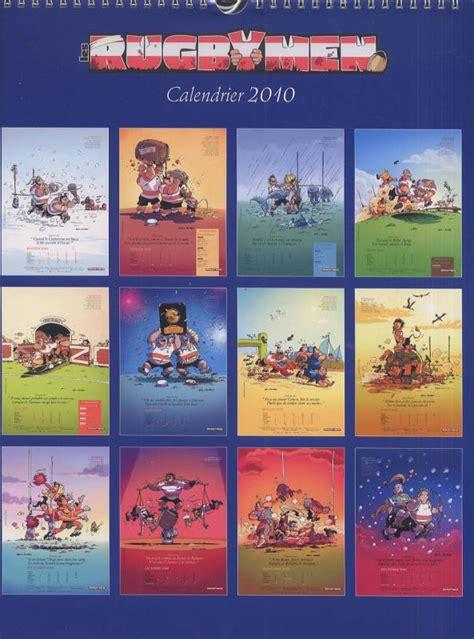 Calendrier Rugbymen Calendrier Les Rugbymen 2010 Poupard Bka Bdnet