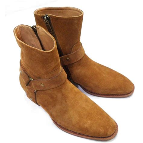 preppy mens boots lttl boots genuine leather mens boot shoes