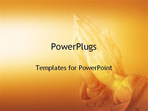 Best Powerpoint Template Hands Praying Background Prayer Ppt Templates Free