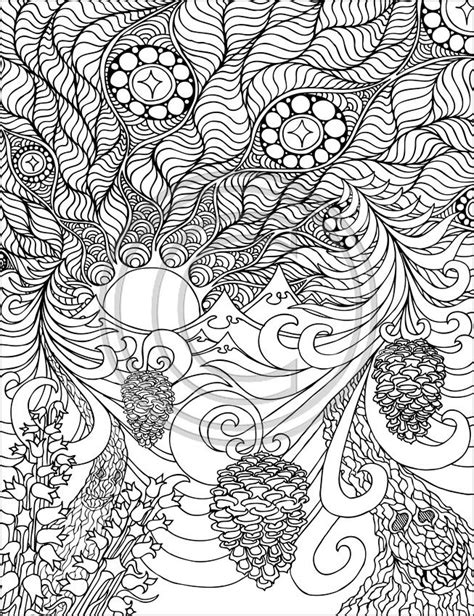 large coloring books for adults 34 best images about doodles mandalas on