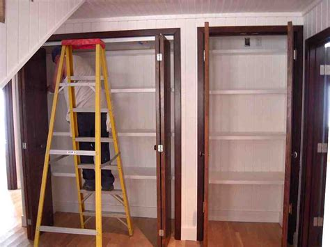 Closet Folding Doors How To Adjust Bifold Closet Doors Bifold Closet Doors Ideas And Design Plywoodchair Bifold