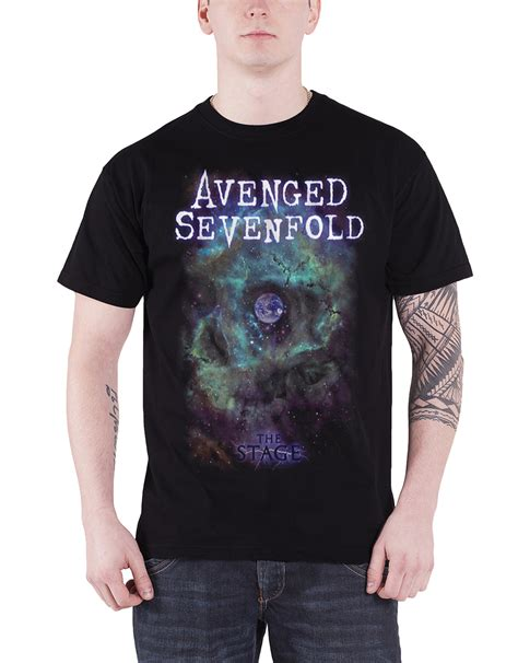 Kaos Avenged Sevenfold A7x Logo 1 avenged sevenfold t shirt the stage band logo a7x