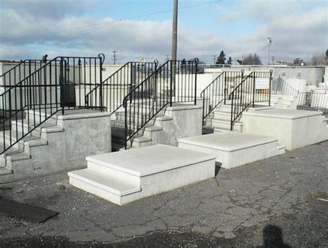 Precast Concrete Porch Steps prefabricated porch steps home design architecture