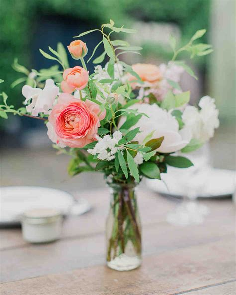 Flower Wedding Centerpiece by 75 Great Wedding Centerpieces Martha Stewart Weddings
