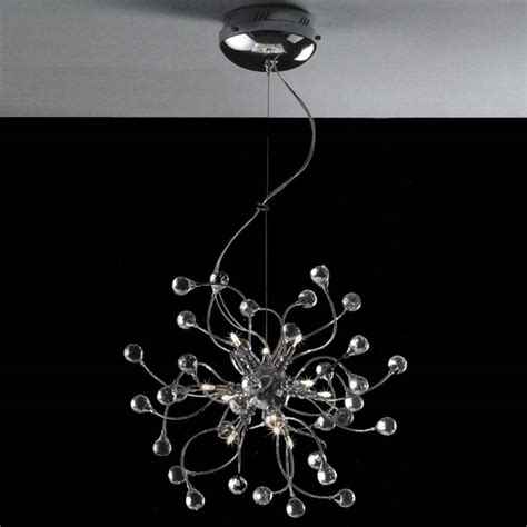 chrome crystal 4 light round ceiling chandelier brizzo lighting stores 18 quot sfera modern crystal round