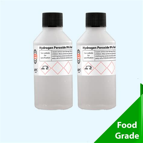tattoo care hydrogen peroxide 2 x 100ml hydrogen peroxide 9 food grade 200ml