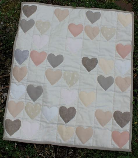 Handmade Wedding Quilts - made custom wedding guest book quilt by water