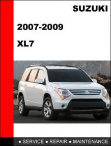 car repair manual download 2009 suzuki grand vitara lane departure warning suzuki xl7 2007 2009 workshop service repair manual download manu