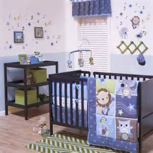 jungle jamboree 3 boy crib bedding set walmart