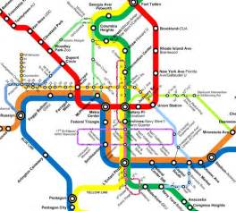 Metro Redline Map by Metro Map Dc S Metro Consists Of A Red Blue Orange