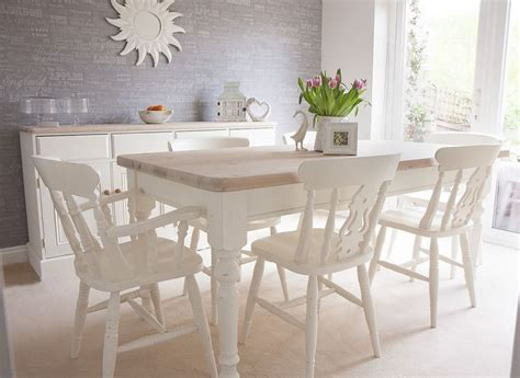 dining room table white white dining room table and 6 chairs 4760