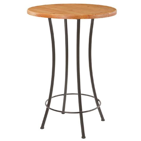 table top bar stone county ironworks standard bar table with 30 quot top 900580