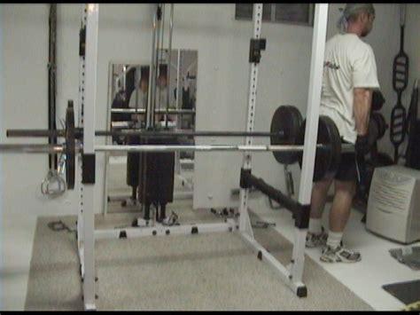 Rack Deadlift Technique by Power Rack Deadlift Machine A Great Mix Of Free Weight