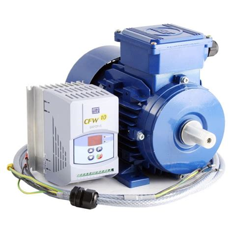 variable speed motor ac variable speed drive and ie2 motor kit 0 75kw 1 0hp