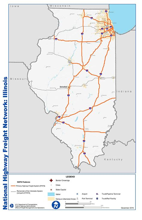 interstate hitchhiking through the state of a nation books national highway freight network map and tables for