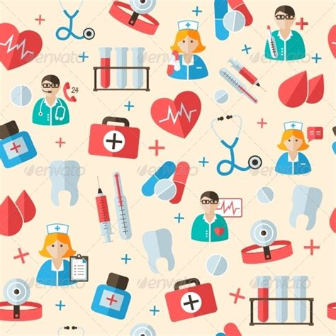 cute medical pattern medical pattern 187 tinkytyler org stock photos graphics