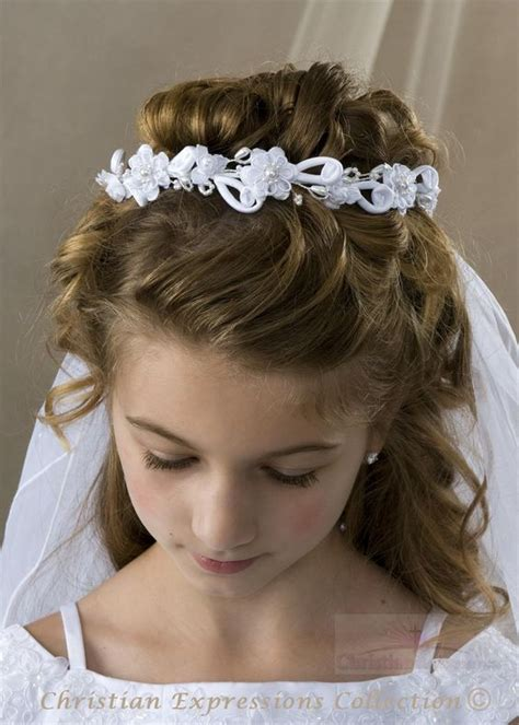 cute hairstyles for first communion communion hairstyles long hairstyles