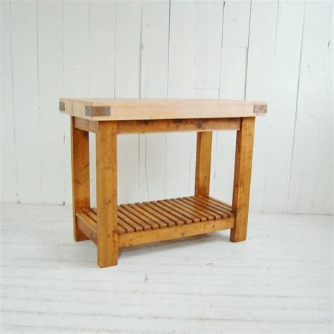 reclaimed butchers block reclaimed timber butchers block by eastburn country