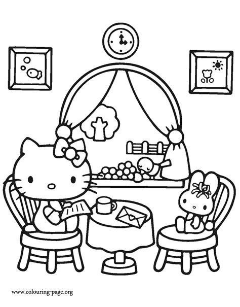 kitty   lunch   friend