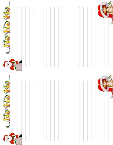 xmas stationery printable free christmas stationery printable images
