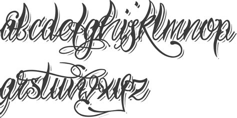 tattoo font gangster nice gangster letters font about otto maurer was