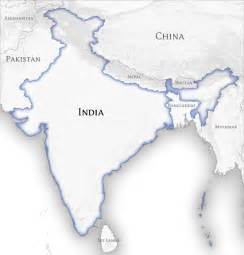 Map Of India And Surrounding Countries by File India And Neighbouring Countries Map Official