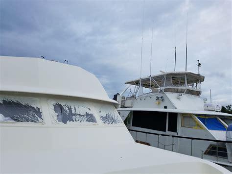 yacht boat frame lookout boat window frames breaks into new yacht refit
