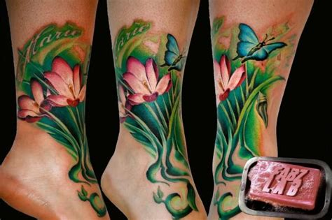 ink lab tattoo photo of fabz lab tattooligan downunderfusion ink foot