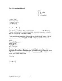 offer acceptance letter crna cover letter