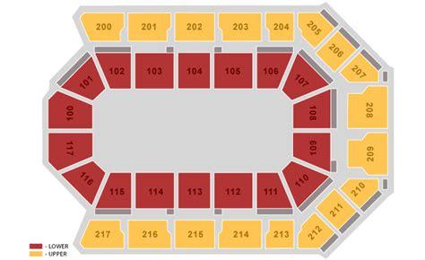 Rabobank Arena Box Office by Seating Charts Rabobank Arena