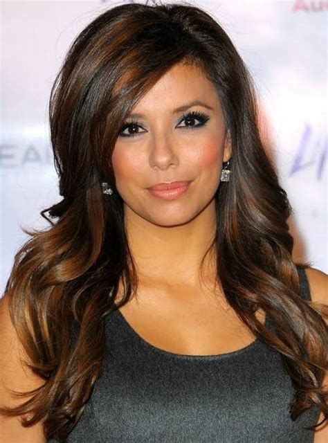 hair highlights for the spring with dark hair dark brown hair color with highlights