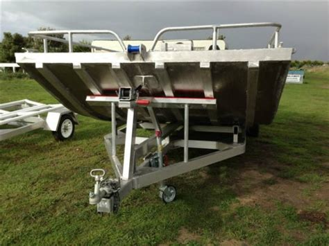 punt boats for sale victoria alumarine 6 4m alloy punt commercial vessel boats