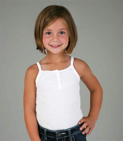 kids shoulder kength hair styles chin length bob kids hairstyle cropped girls pinterest