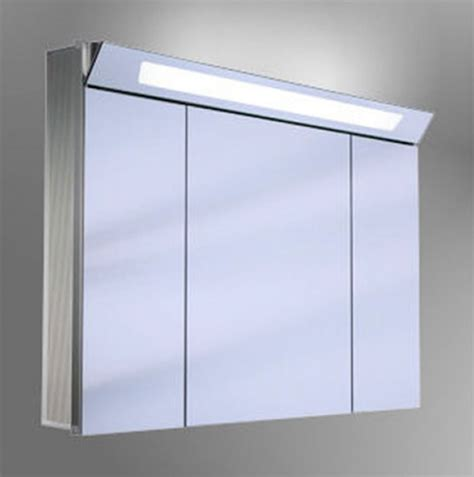 illuminated mirror bathroom cabinets schneider capeline 3 door illuminated mirror cabinet uk