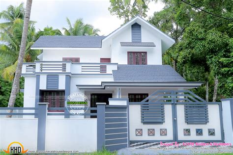kerala home design thrissur work completed house in 1983 sq ft kerala home design