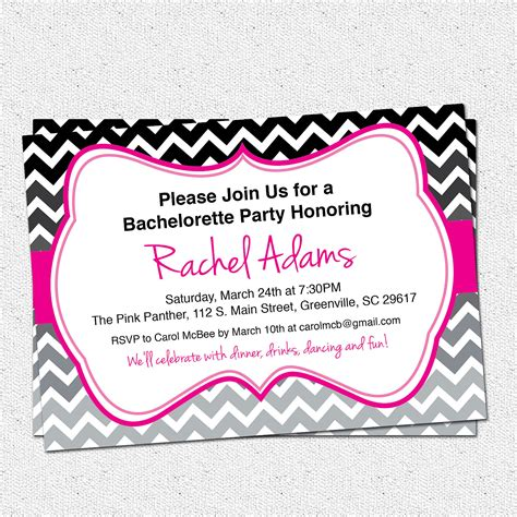 bachelorette invitations templates free invitations bachelorette invites design