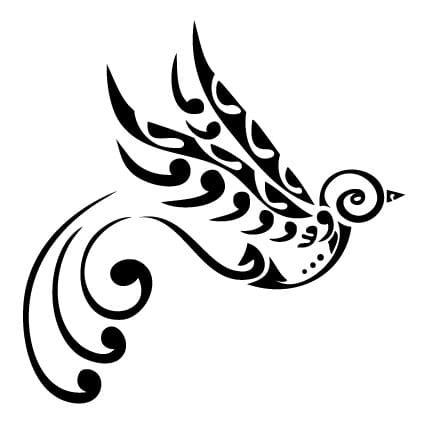 Auto Sticker Vogel by Maori Vogel Sticker Stickythings Nl