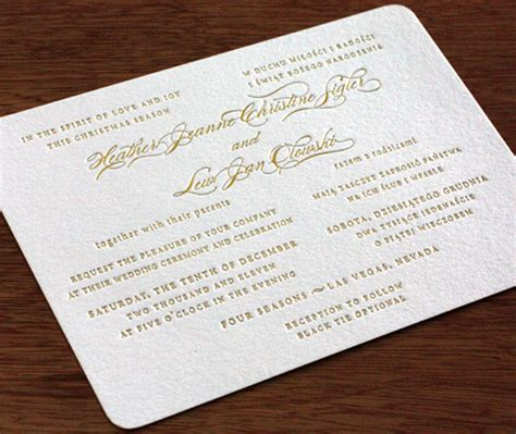 Bilingual Wedding Invitation Wording Layouts Letterpress Wedding Invitation Blog Bilingual Wedding Invitation Templates