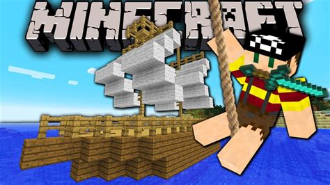how to make a moving boat on minecraft pe minecraft 1 8 snapshot moving boat sailing pirate ship