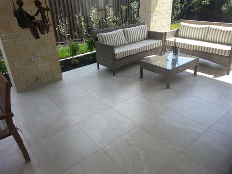 travertino porcelain tile collection tropical patio