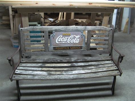 Vermont Kitchen Cabinets refurbished coca cola bench vermont carpentry designs