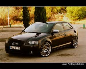 audi a3 black edition by timeberlin on deviantart