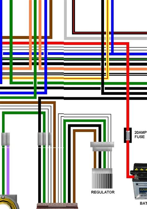 enfield bullet 350 500cc reg spec colour wiring loom diagram
