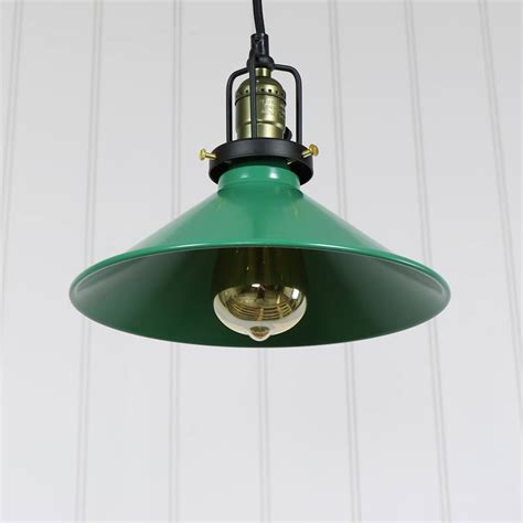 Green Ceiling Lights Green Loft Style Pendant Ceiling Light Melody Maison 174