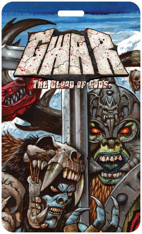 Blood Of Gods gwar announces the blood of gods album with
