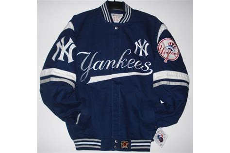New York Jacket Murah jh design new york yankees cotton twill jacket with embroidered logos
